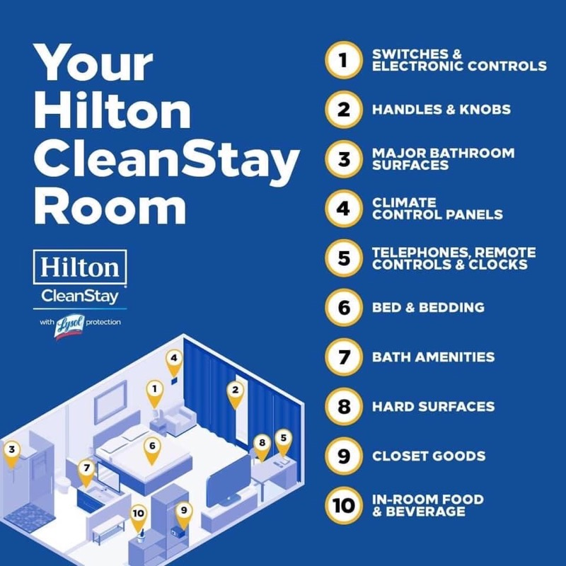 Your Hilton Clean Stay Room